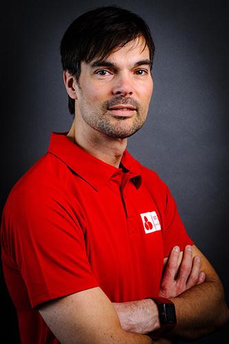 Fysiotherapeut Rob Hoogeveen