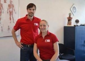 Rob Hoogeveen en Corien Jansen van PMC Nederland.